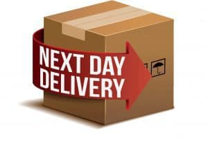 next day delivery