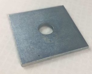 Metric Square Plate Washer